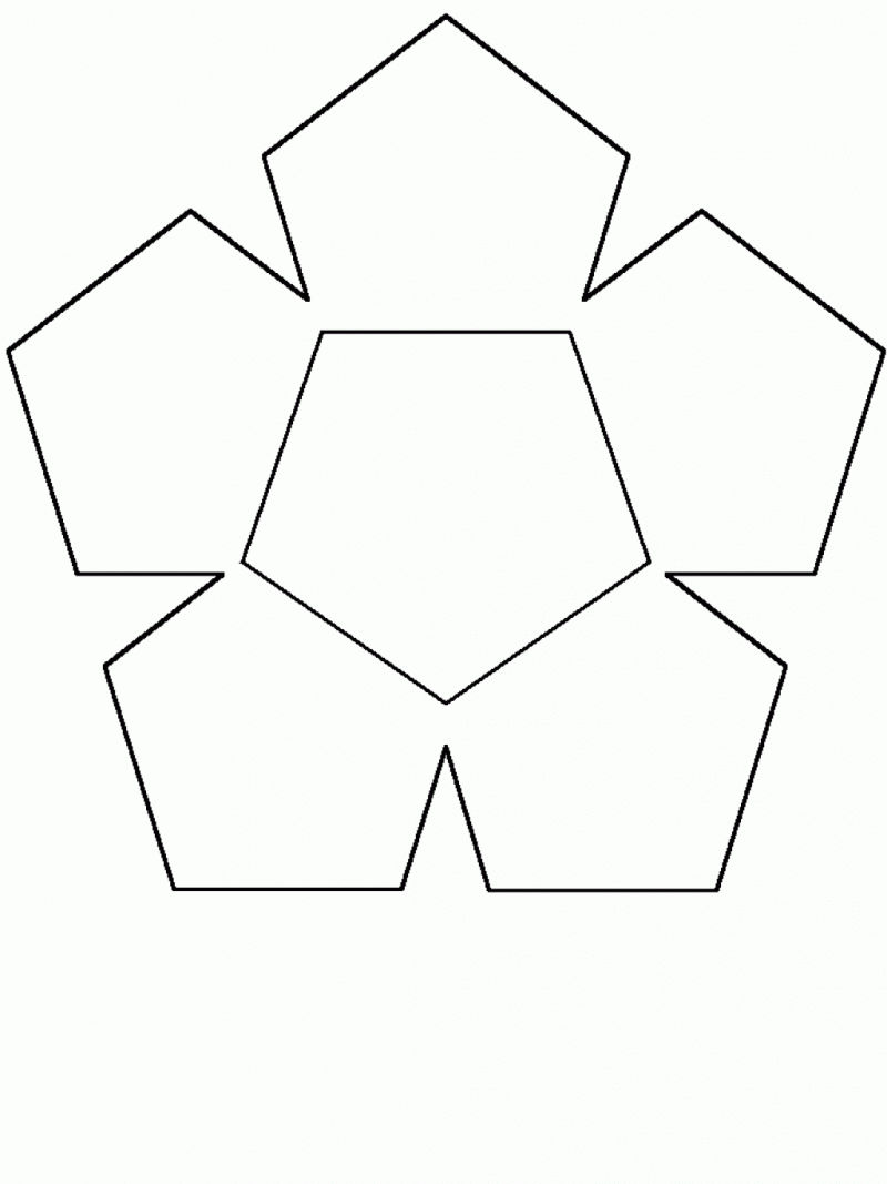 Free Shapes Coloring Pages