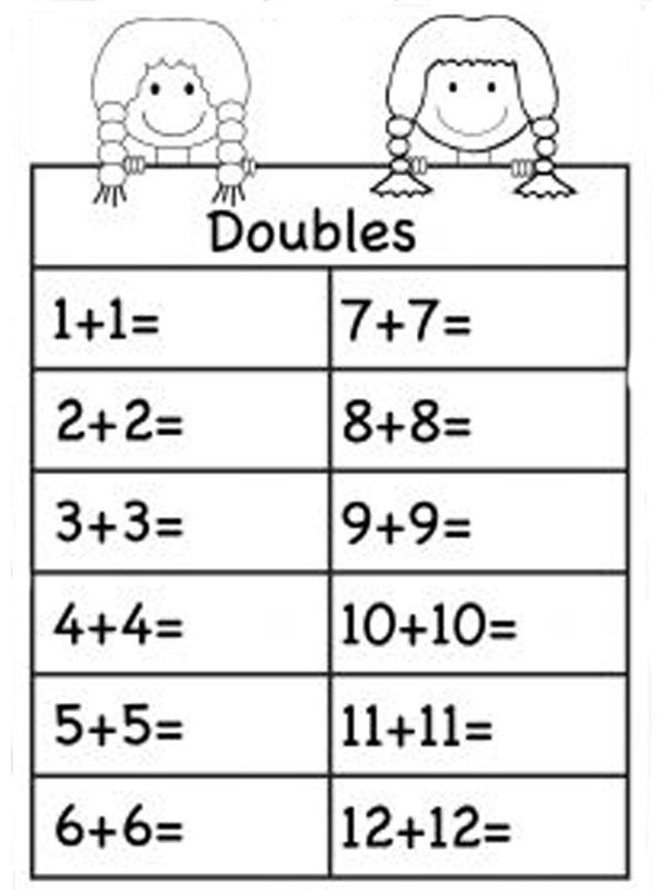 Free Touch Math Addition Worksheets 001