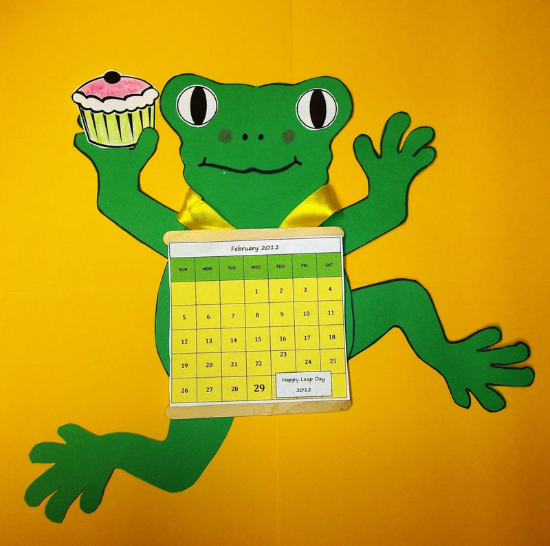 Frog Activities For Kids Day Craft