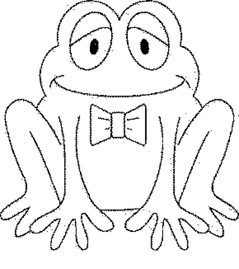 Frog Coloring Pages For Boys