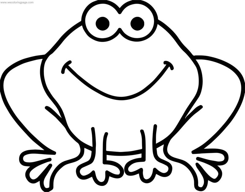 Frog Perfect Coloring Page
