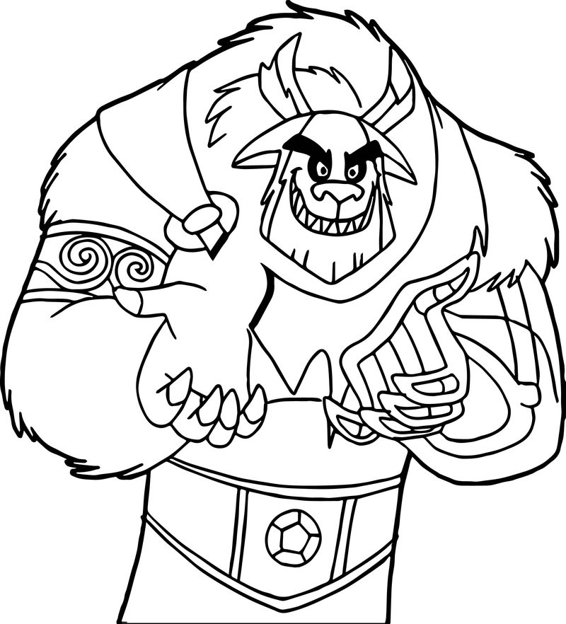 Frostbite From Danny Phantom Coloring Page