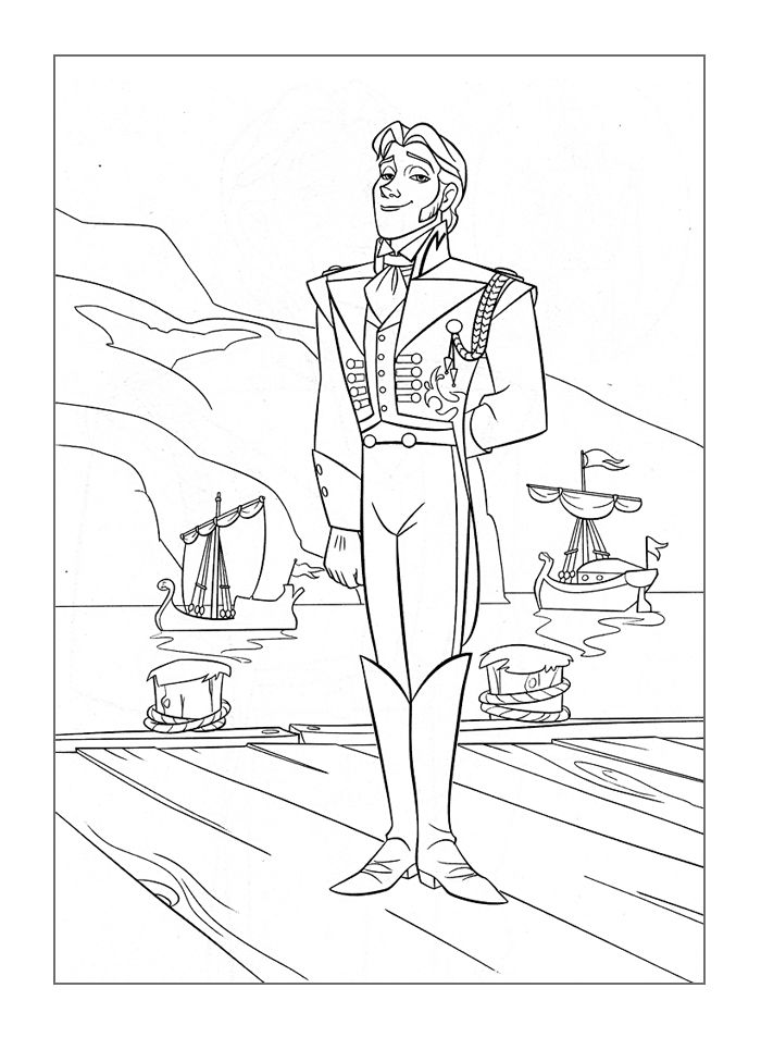 Frozen Coloring Page Download