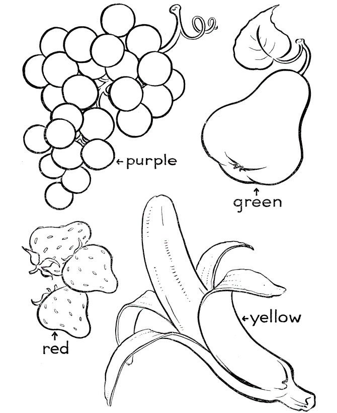 Fruit Of The Spirit Coloring Pages For Kids