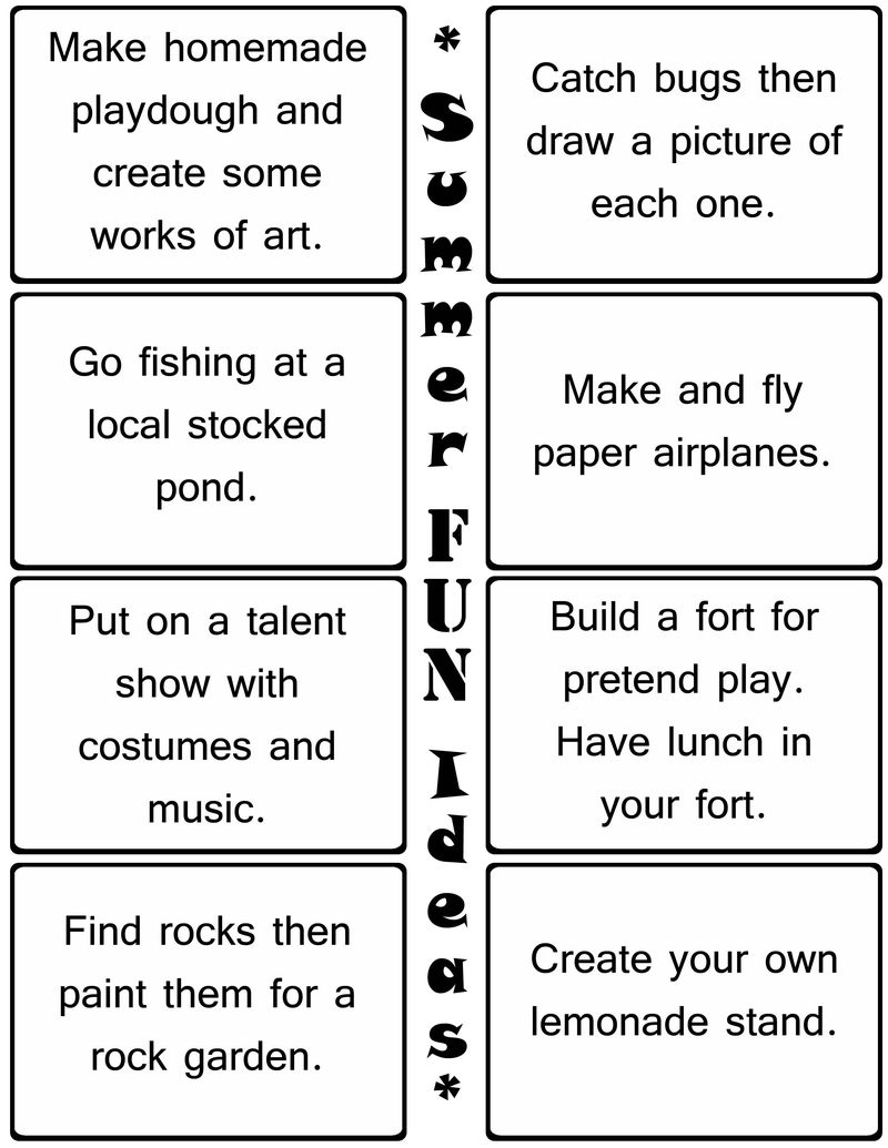 Fun Kids Worksheets Situational Cards
