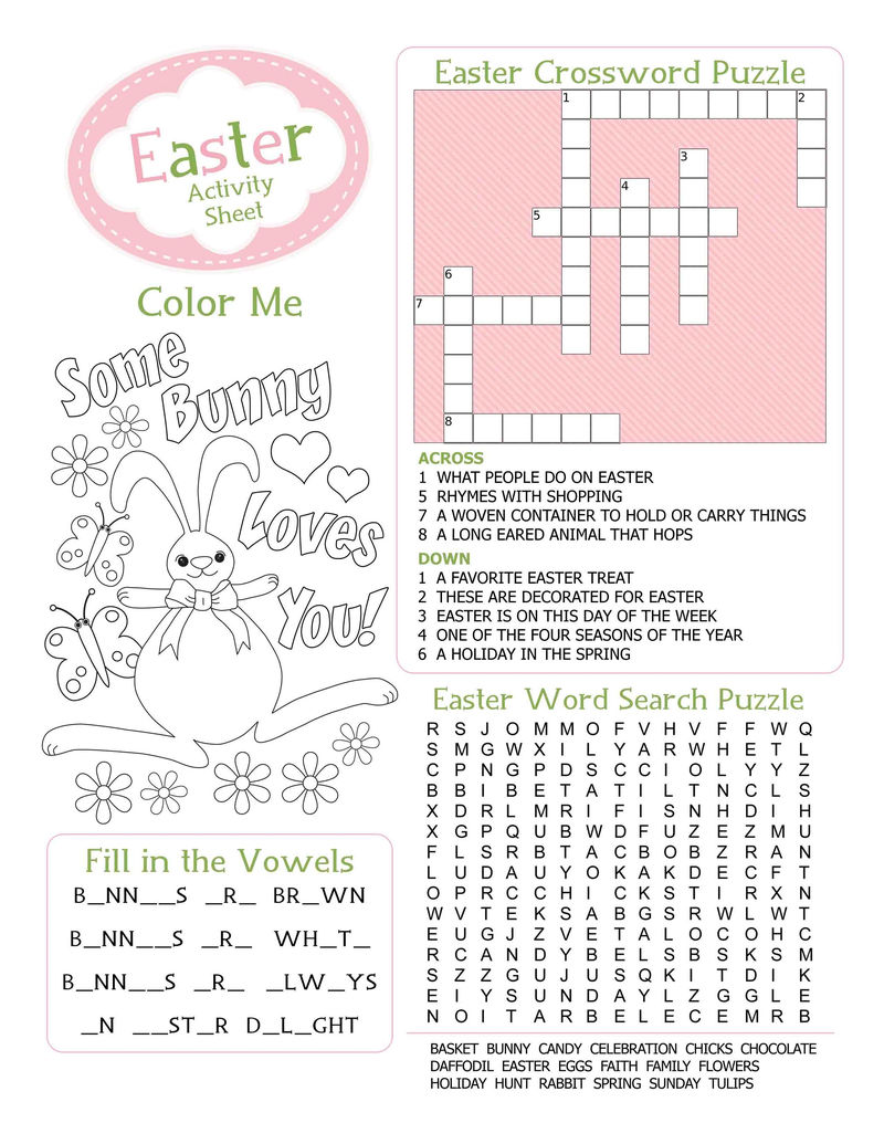 Fun Worksheets For Kids Practice