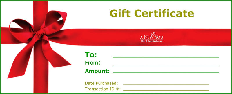 Gift Certificate Template Fill In