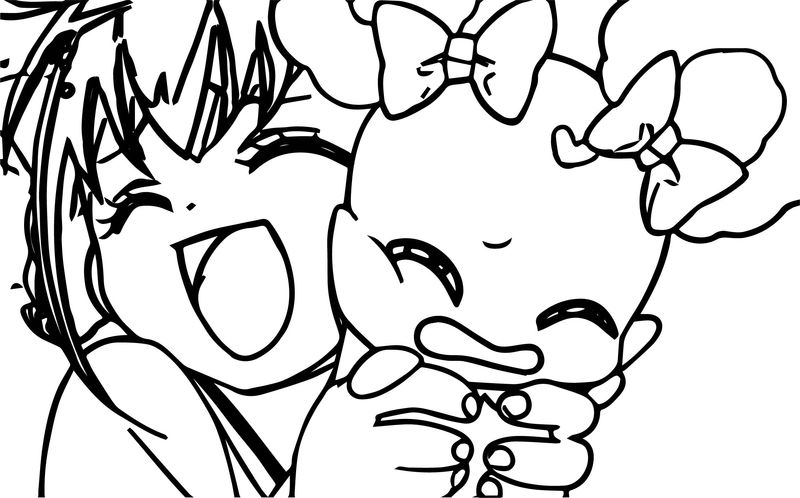 Glitter Force Love My Animal Coloring Page