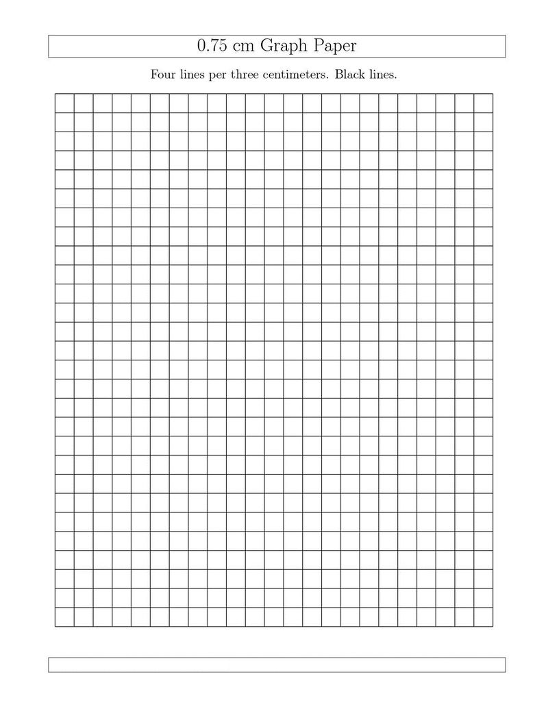 Graph Paper Worksheets Simple