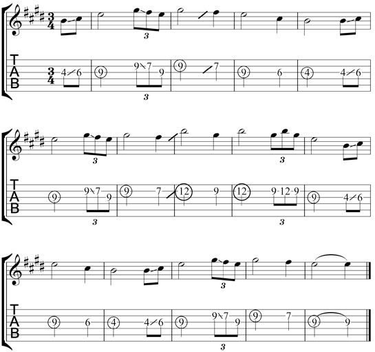 Guitar Chords For Amazing Grace 3 002
