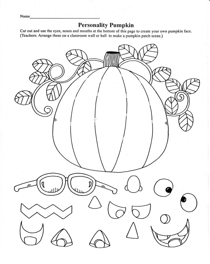 Halloween Activities For Classroom Printable 001