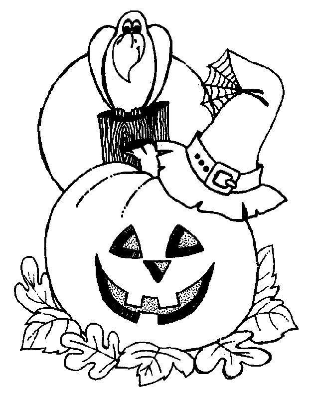 Halloween Coloring Pages Printable 1