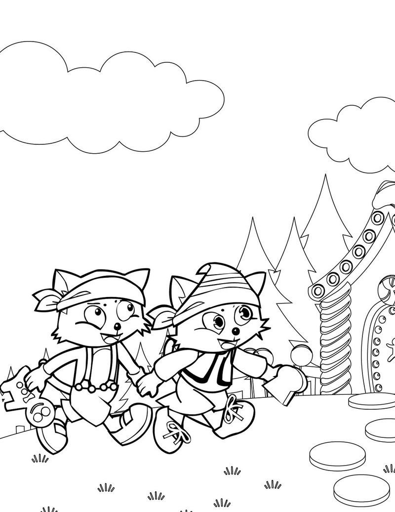 Hansel And Gretel Activities Coloring Page