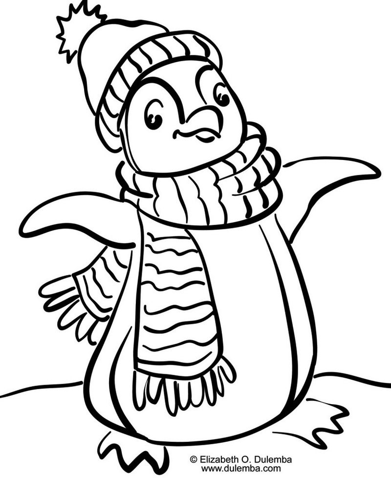 Happy Feet Coloring Sheet Animated Film Pinguin