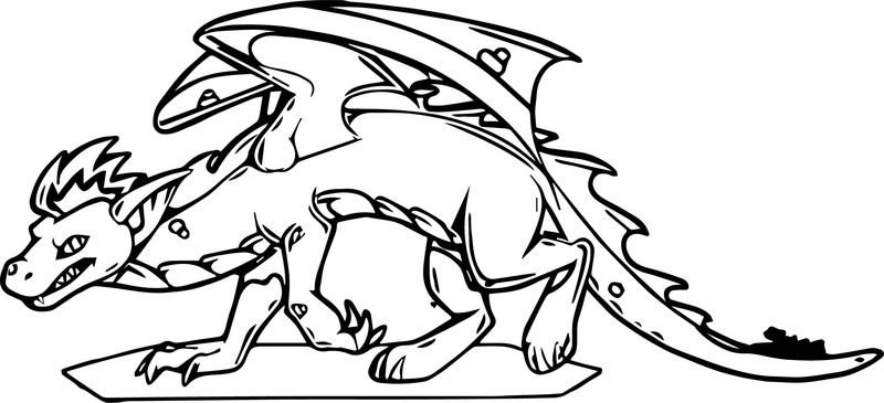 He S The American Dragon Coloring Page