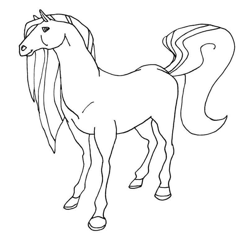 Horseland Coloring Pages Printable