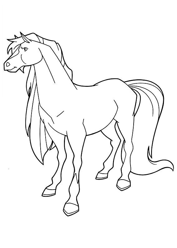 Horseland Coloring Page