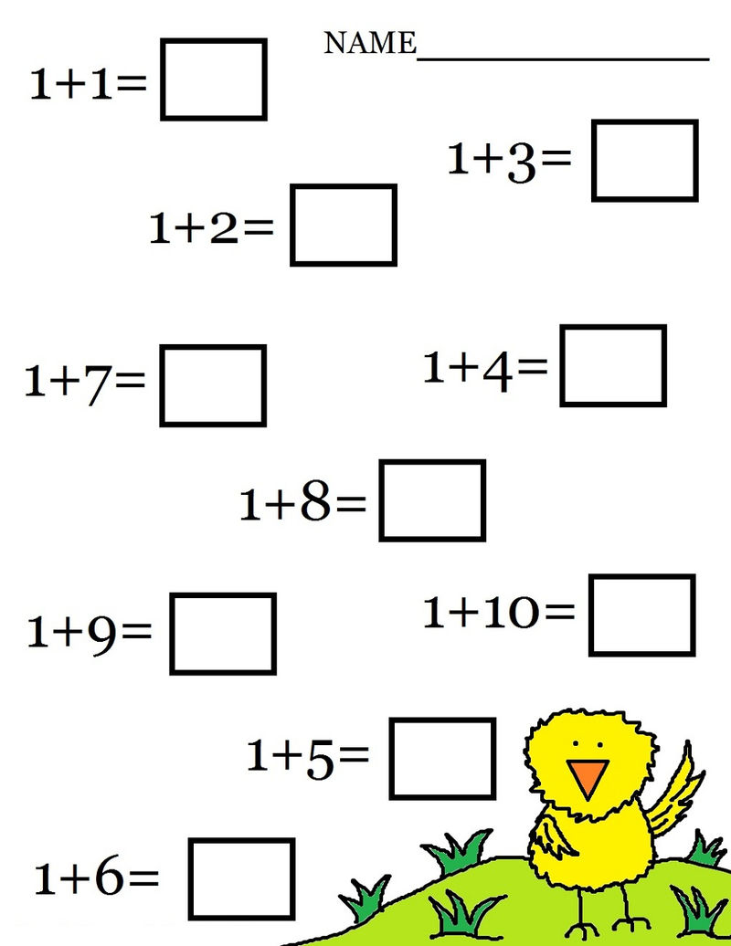 Images Of Math Worksheets Add