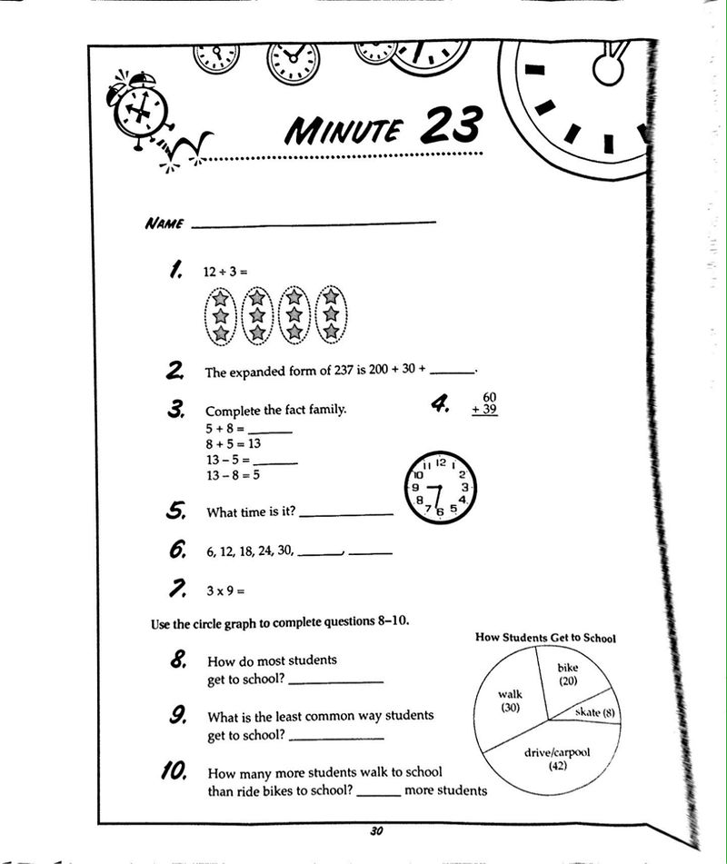 Images Of Math Worksheets Problems
