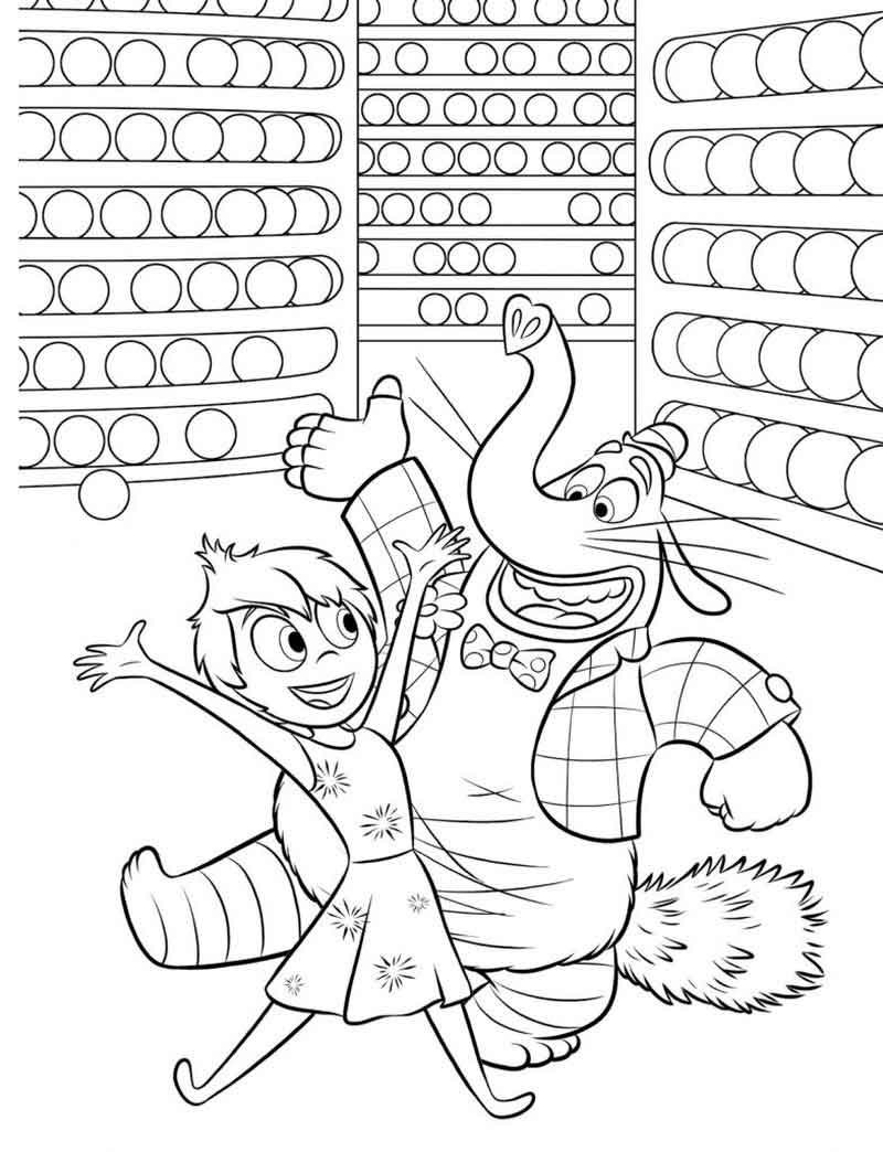 Inside Out Coloring Page