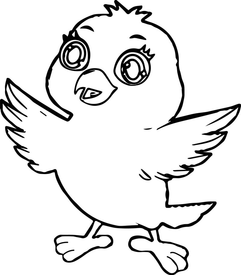 Is Bird Coloring Page