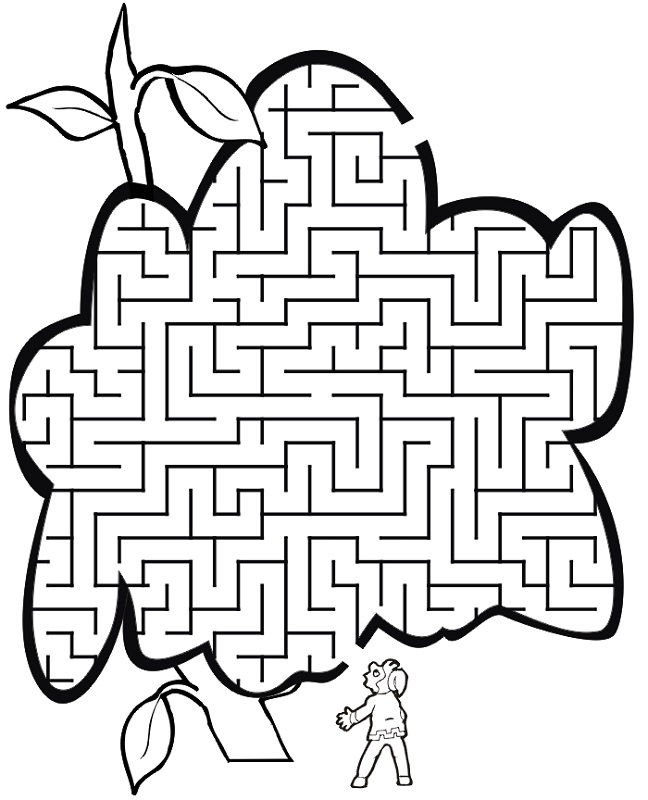 Jack And The Beanstalk Worksheets Maze