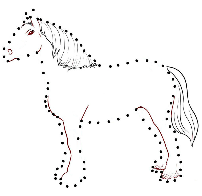 Join The Dots Horse Animal