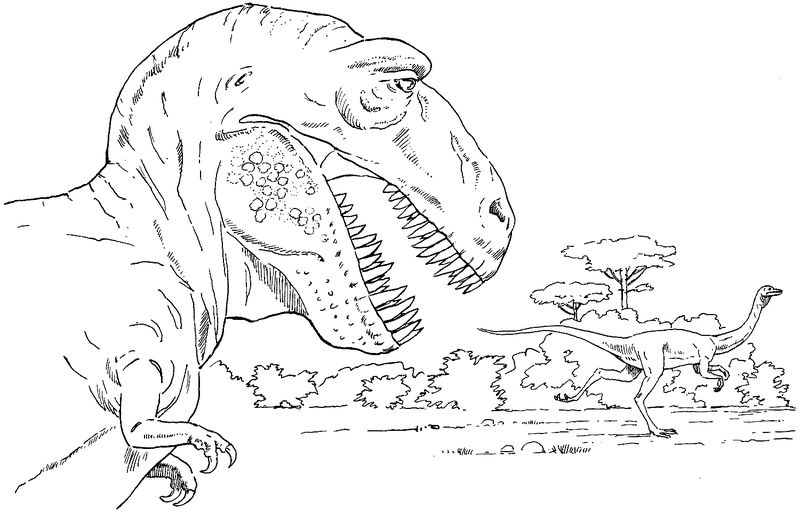 Jurassic World Dinosaur Coloring Pages 2