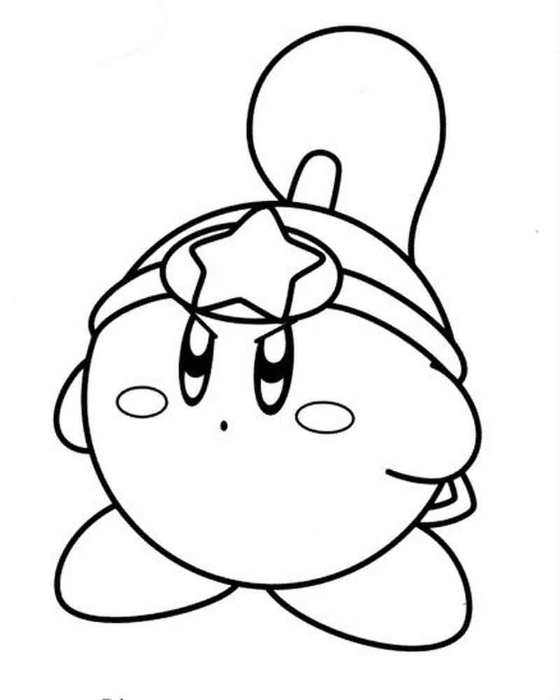 Kirby Coloring Pages Images