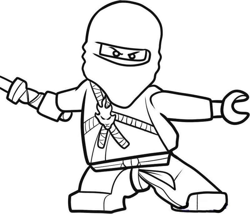 Lego Ninjago Coloring Pages Free Printables