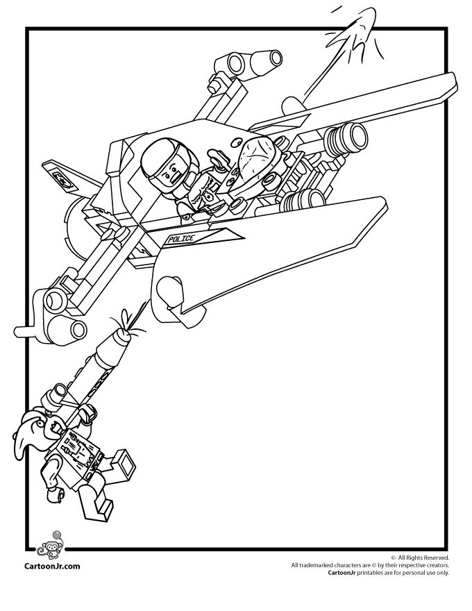Lego Star Wars Coloring Pages 1