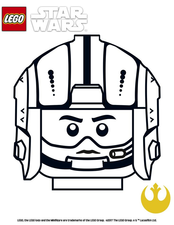 Lego Star Wars Printable Coloring Pages