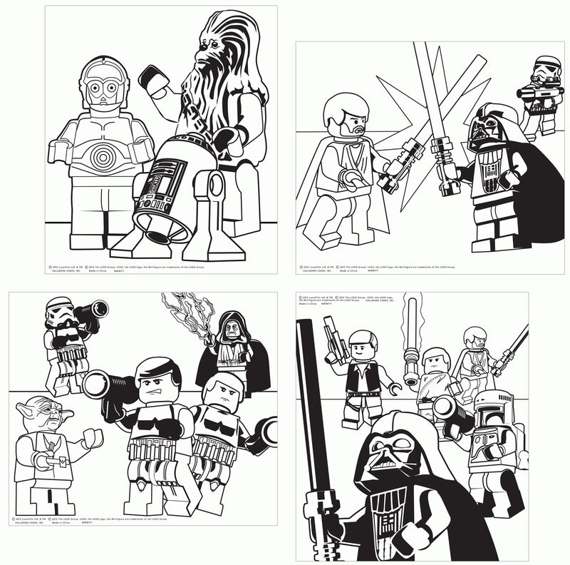 Lego Star Wars Small Pictures To Color