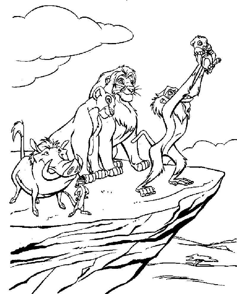 Lion King Coloring Pages The New King