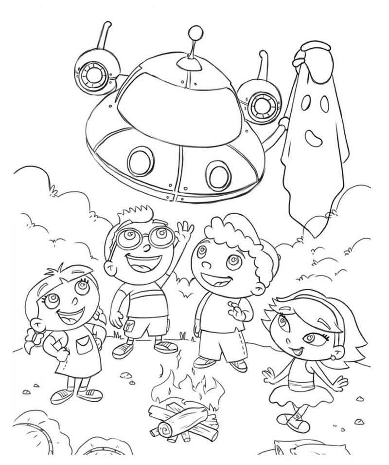 Little Einsteins Coloring Page