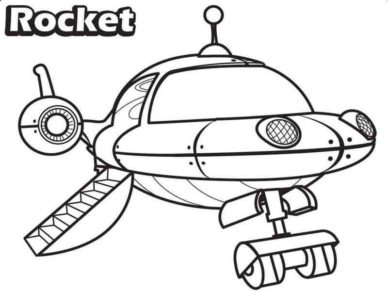 Little Einsteins Coloring Pages Rocket Landing | FREE COLORING PAGES