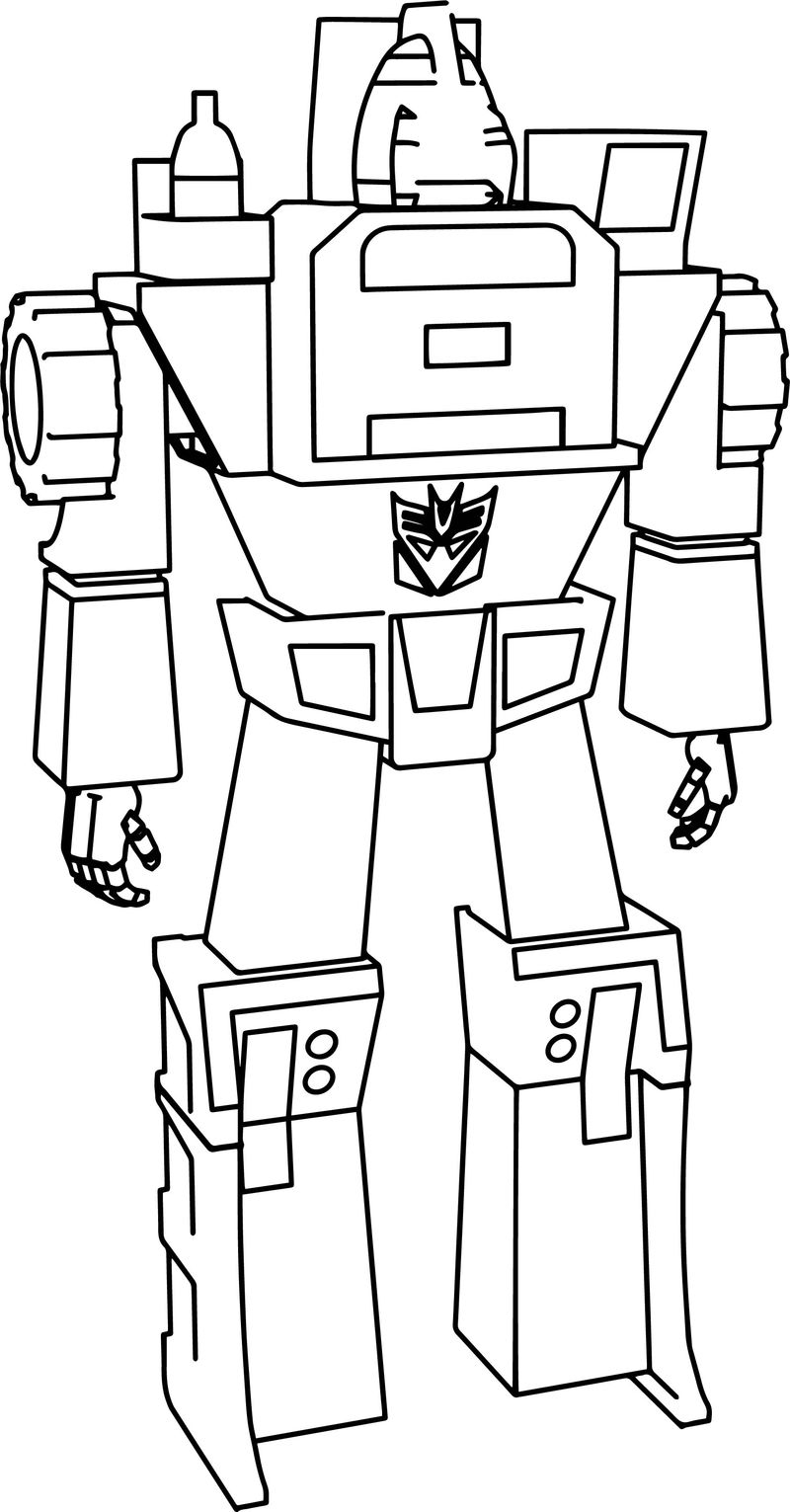 Long Haul Transformers Coloring Pages
