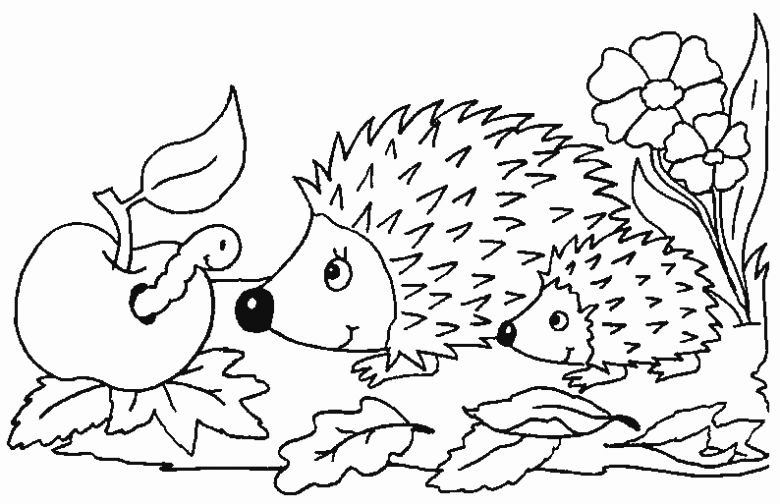 March Animals Coloring Pages