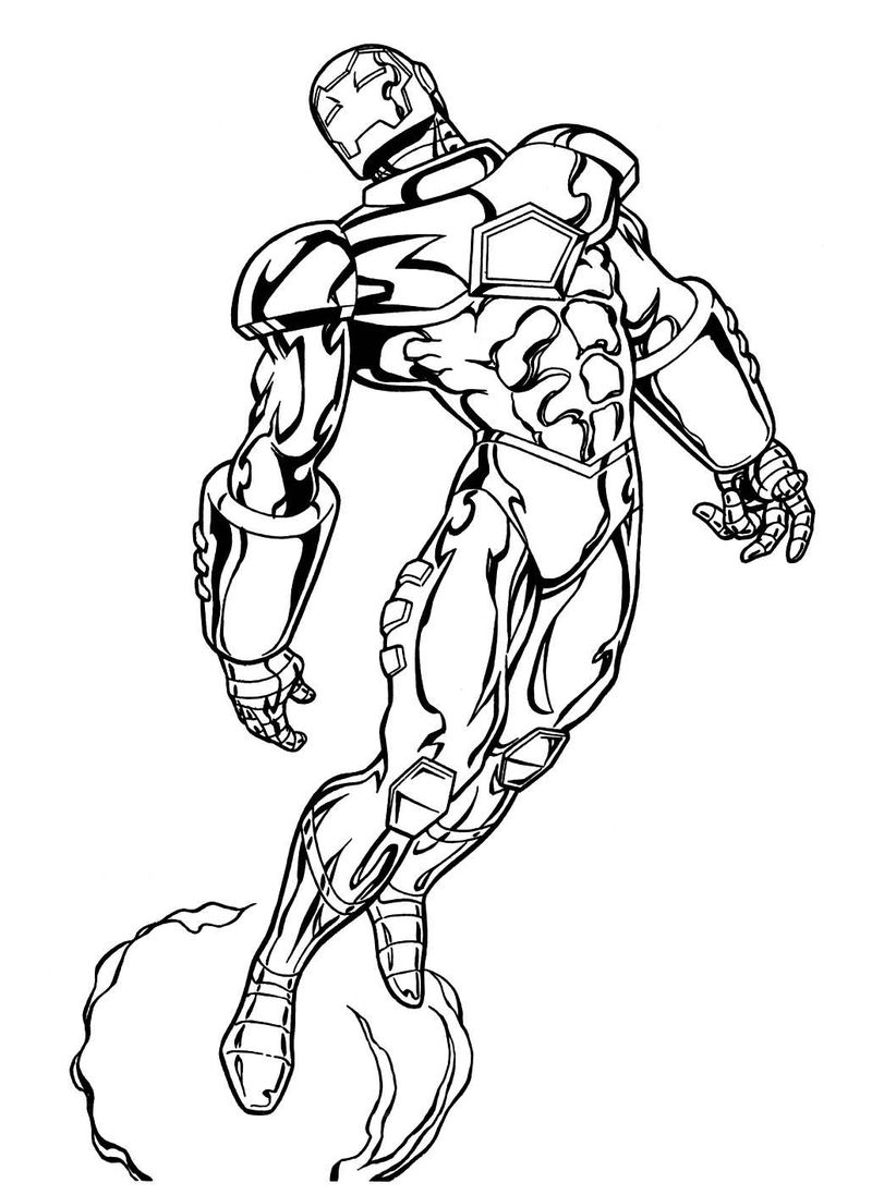 Marvel Coloring Pages Free 001