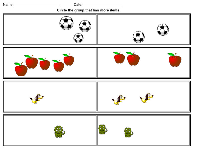 Math Worksheets Images With Pictures