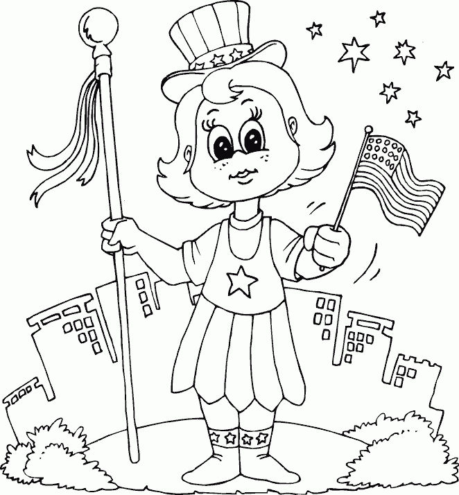 Memorial Day Coloring Page Free Printables
