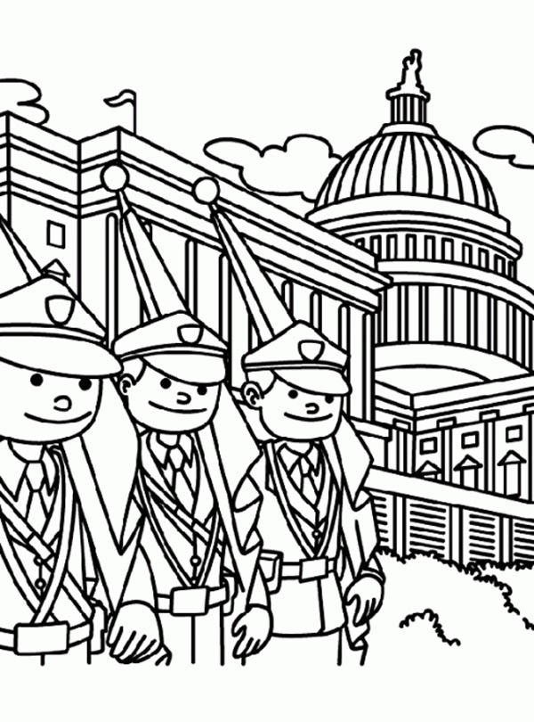 Memorial Day Coloring Pages Free Printables