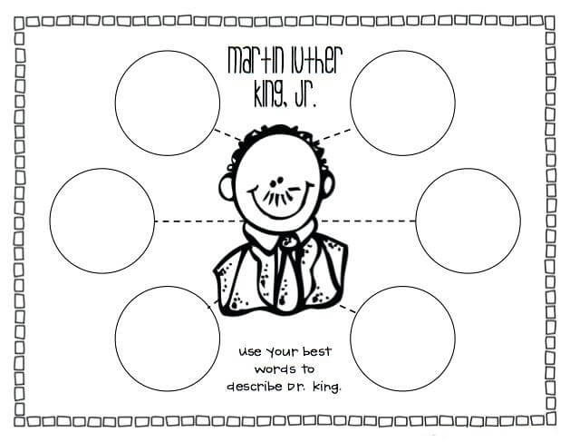 Mlk Printable Worksheet