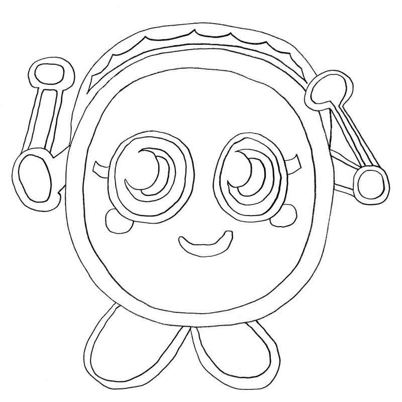 Moshi Monster Coloring Pages