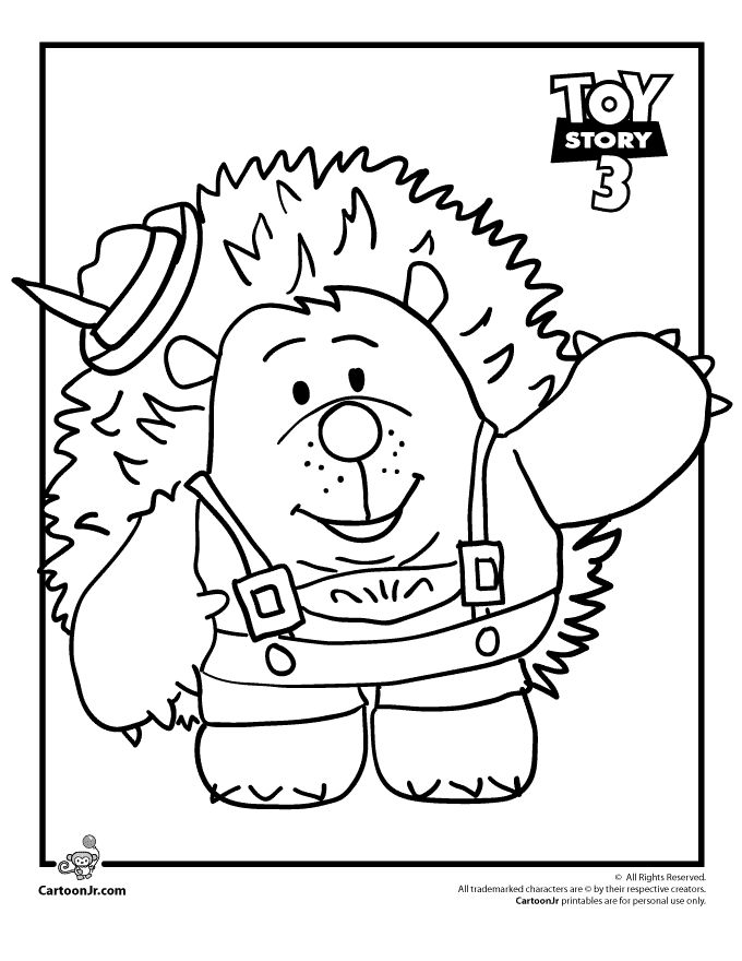 Mr Pricklepants Toy Story Coloring Pages