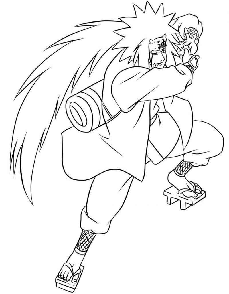Naruto Coloring Pages Pictures