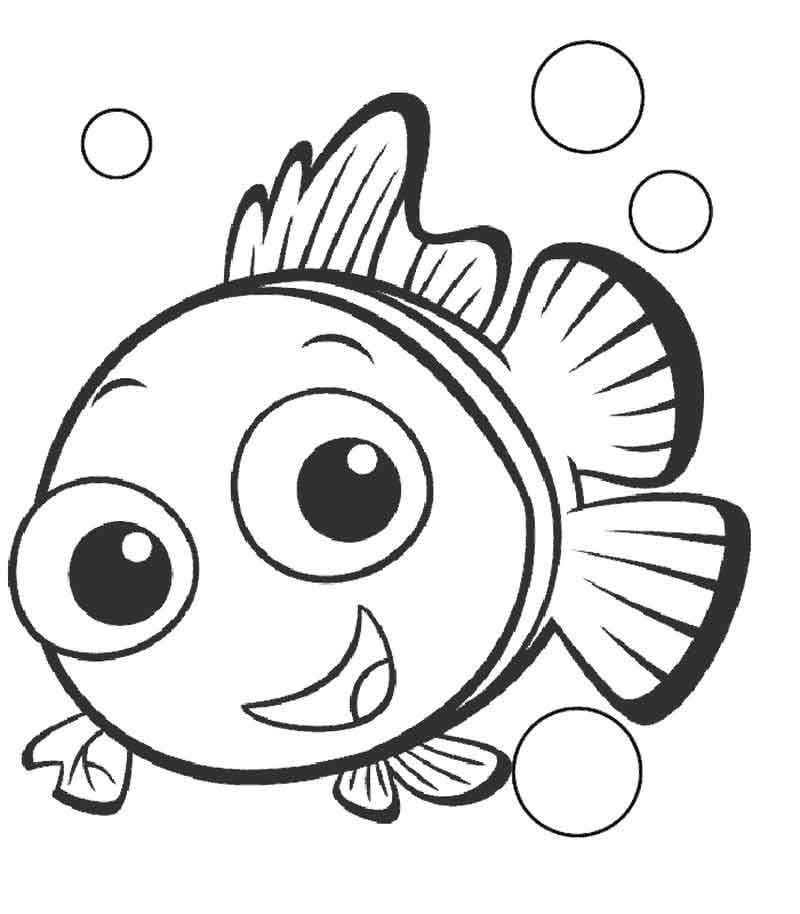 Nemo Coloring Pages Pictures