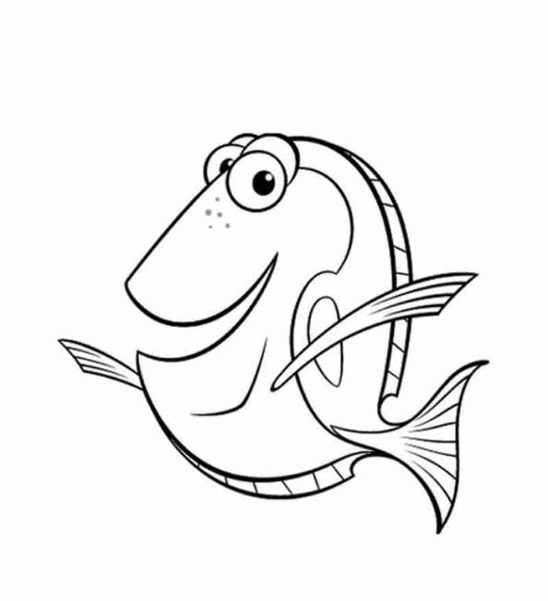 Nemo Coloring Pages Printable