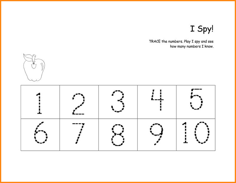 Number Practice Sheets To Print
