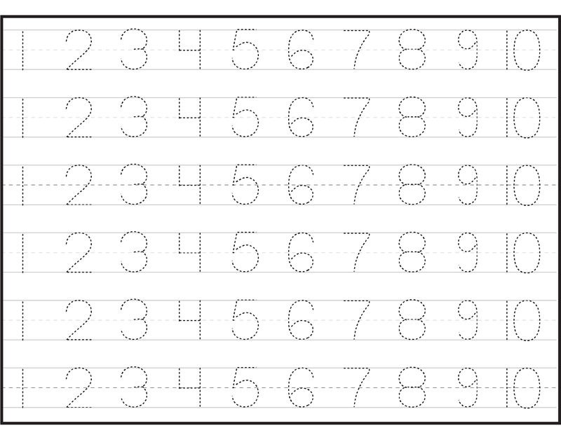 Number Worksheets Counting